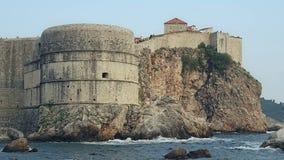 Dubrovnik fortress Bokar Stock Image