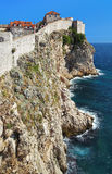 Dubrovnik fortress, Croatia Royalty Free Stock Images
