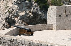 Dubrovnik fortress. Croatia Royalty Free Stock Photos