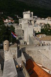 Dubrovnik fortress Croatia Royalty Free Stock Image