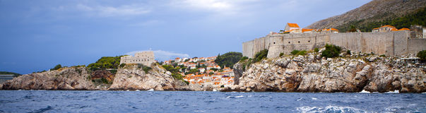 Dubrovnik Fortress - in the south of Croatia Royalty Free Stock Image