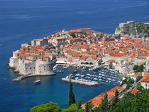 Dubrovnik Fortress - in the south of Croatia Royalty Free Stock Photos