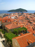 Dubrovnik Fortress - in the south of Croatia. Europe Royalty Free Stock Photo