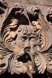 Dubrovnik fountain ghoul. Croatia Dubrovnik mask on a fountain in the Dubrovnik historical center - UNESCO World Heritage site Stock Photo