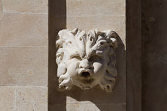 Dubrovnik. Fountain ornamentation. Royalty Free Stock Photography