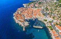 Dubrovnik gammal town arkivfoto