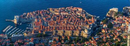 Dubrovnik gammal town fotografering för bildbyråer