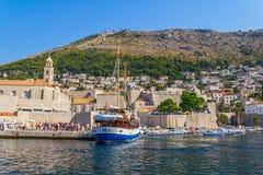 Dubrovnik gammal town Royaltyfria Foton