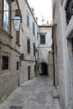 Dubrovnik gata Arkivfoto