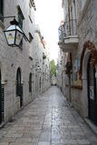Dubrovnik gata Arkivbilder