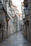 Dubrovnik gata Royaltyfri Bild