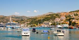 Dubrovnik Gruz Harbor Stock Photo