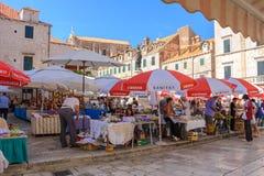 Dubrovnik Gruz market Stock Photo