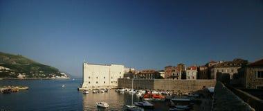 Dubrovnik-Hafen stockbild