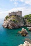 Dubrovnik-Hafenverstärkung stockbild