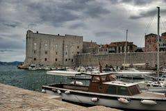 Dubrovnik hamn Royaltyfria Bilder