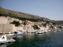 Dubrovnik hamn Royaltyfri Bild