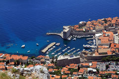 Dubrovnik harbor Stock Image