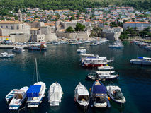 Dubrovnik Harbor Royalty Free Stock Image