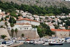 Dubrovnik harbor Stock Photos