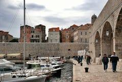 Dubrovnik harbor Royalty Free Stock Image