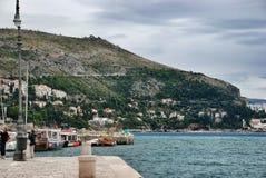 Dubrovnik harbor Royalty Free Stock Photos