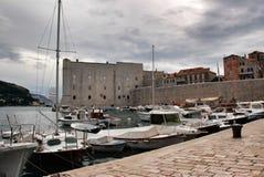Dubrovnik harbor Stock Images