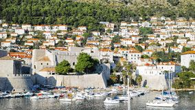 Dubrovnik Harbor, CROATIA. Royalty Free Stock Image