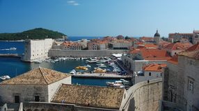 Dubrovnik Harbour Royalty Free Stock Photos