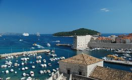 Dubrovnik Harbour Royalty Free Stock Image