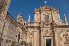 Dubrovnik i swój sławne ulicy obrazy stock