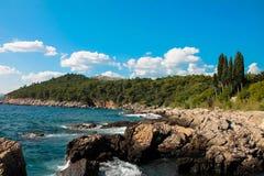 DUBROVNIK - ilha de Lokrum Imagens de Stock Royalty Free