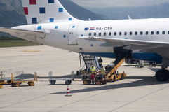 Dubrovnik International Airport Croatia Royalty Free Stock Photography