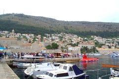 Dubrovnik-Jachthafen Lizenzfreie Stockfotos