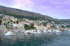 Dubrovnik-Jachthafen Stockfotografie