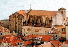 Dubrovnik Jesuit Church Stock Photography