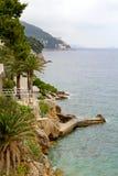 Dubrovnik-Küste Stockfotos