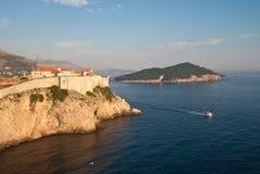 Dubrovnik Kroatië Royalty-vrije Stock Foto's