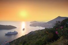 Dubrovnik in Kroatië royalty-vrije stock fotografie