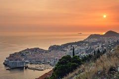 Dubrovnik in Kroatië royalty-vrije stock afbeelding