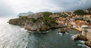 Dubrovnik Kroatië Stock Foto's