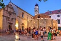 Dubrovnik, Kroatië Stock Foto's