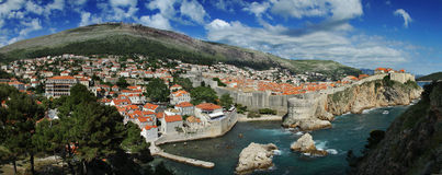 Dubrovnik. Kroatien. Lizenzfreie Stockfotos