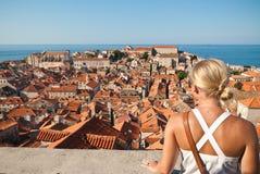 Dubrovnik Kroatien Stockbild
