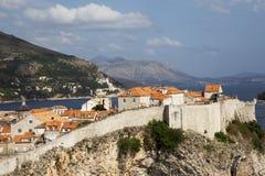 Dubrovnik in Kroatien lizenzfreie stockfotos