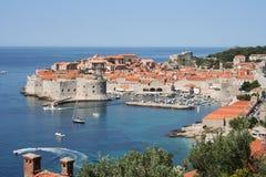 Dubrovnik-Kroatien Arkivbilder