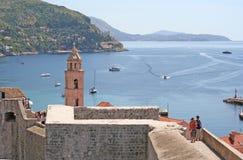 Dubrovnik-Kroatien Arkivbild