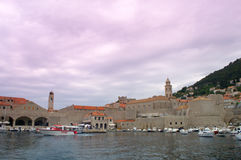 Dubrovnik KROATIEN Fotografering för Bildbyråer