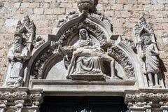 Dubrovnik in Kroatien Stockbild