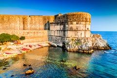 Dubrovnik, Kroatien - adriatisches Meer Lizenzfreie Stockfotos